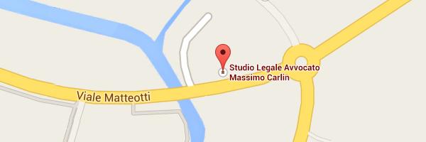 Studio Avvocato Massimo Carlin: come arrivare